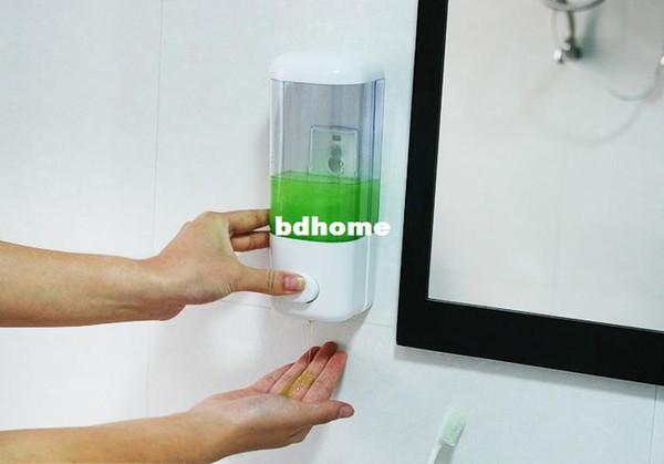 Freies Verschiffen 3pcs / Lot Wandabsaugung Mini Seifenspender Emulsion Wand  Seifenspender Bad Handdesinfizierer Badflüssigkeit