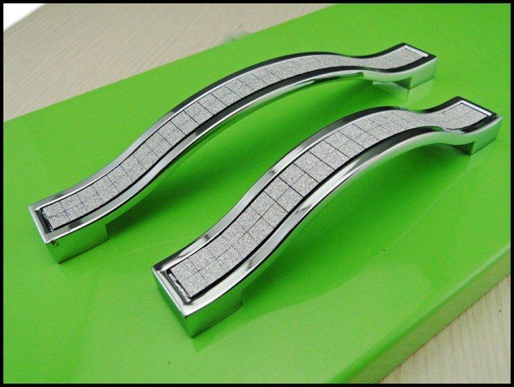 of 10 Modern Kitchen Cabinet Drawer Furniture Handle Pull HardwareC.C.:96mm,Length:110mm
