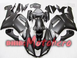 Wholesale kawasaki ninja 636 fairings - Hi-gradeABS 7gifts- Full fairing For KAWASAKI ZX6R 07-08 ZX-6R 2007-2008 6R 07 08 ZX 6R 636 2007 2008 07 08 matt black