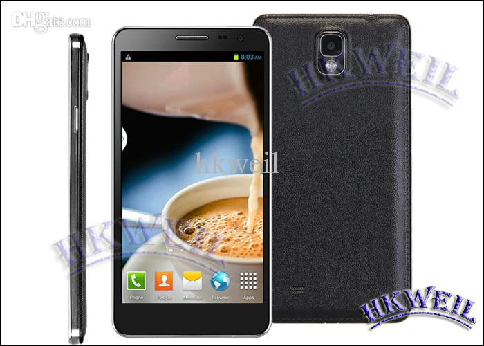 Star N8000 Quad Core Phone Android4.2.2 Air Gesture 1G RAM 4G ROM With 5.5Inch TFT Screen 13.0MP Camera 3G GPS MTK6582 Cell Phone MD0672
