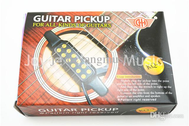 KQ-3 Acoustic Guitar Pick up Wire Amplifier Speaker Sound Hole Pickup