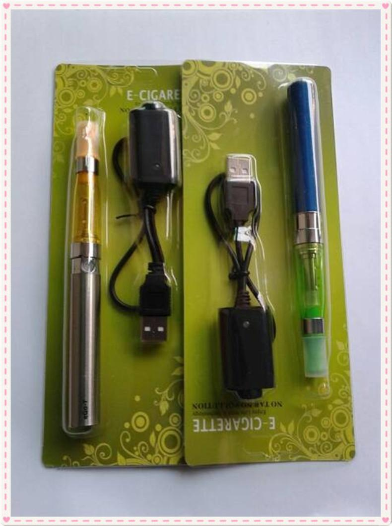 EGO-T 1300mah Battery Electronic Cigarette E-cigarette CE5 Atomizer Blister Kits USB CHarger Cable eGo Battery