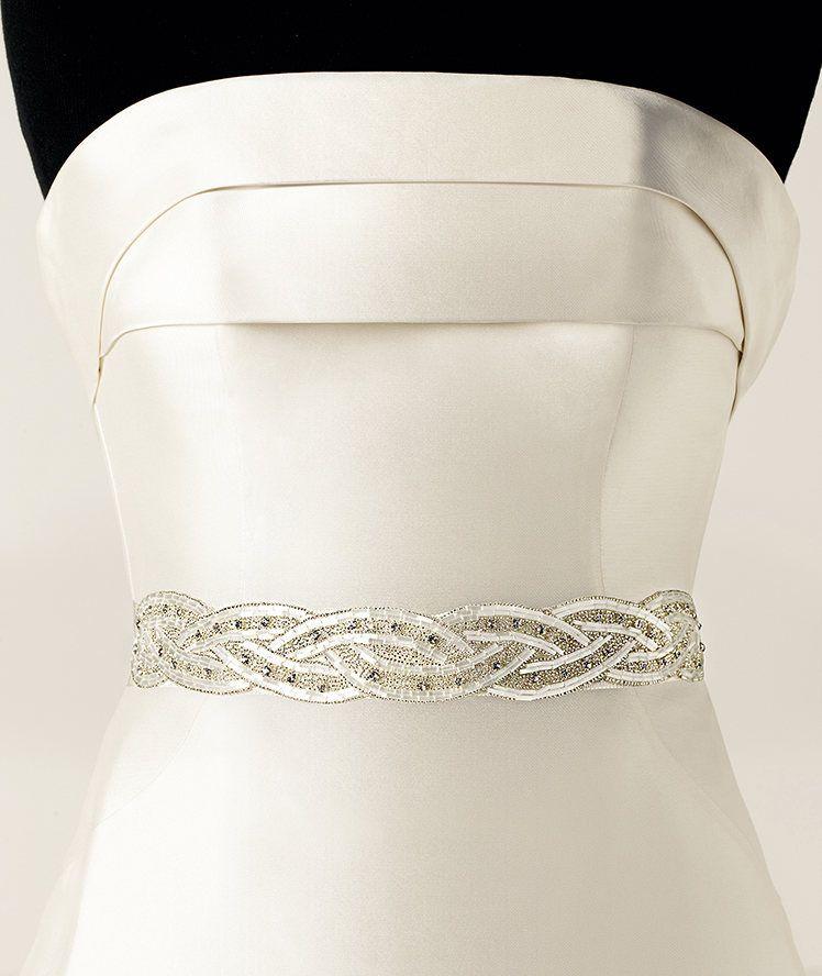 Unique Wedding Dress Sashes Belts: 2019 Exquisite Sparkle Custom Made Handmade Beaded Crystal
