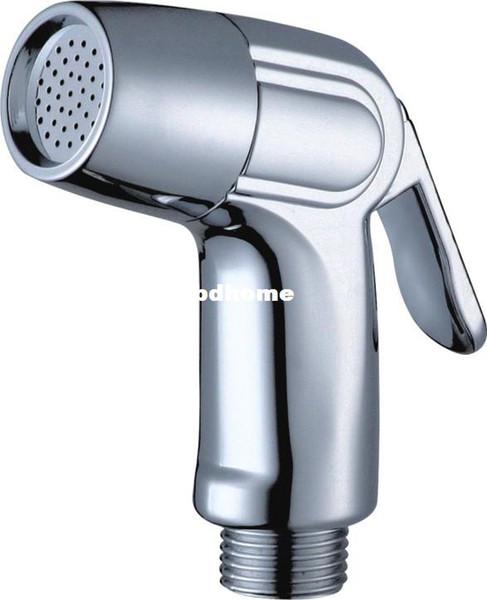 Pulvérisateur portatif tenu dans la main de toilette de bidet de pommeau de douche de bidet d'ABS de chrome
