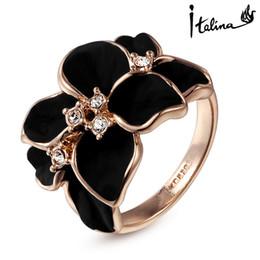 $enCountryForm.capitalKeyWord Canada - Italina Rigant New Ariival Genuine Austrian Crystal Ring For Women With Swarovski Crystal Stellux Utopia Jewelry #RG95676