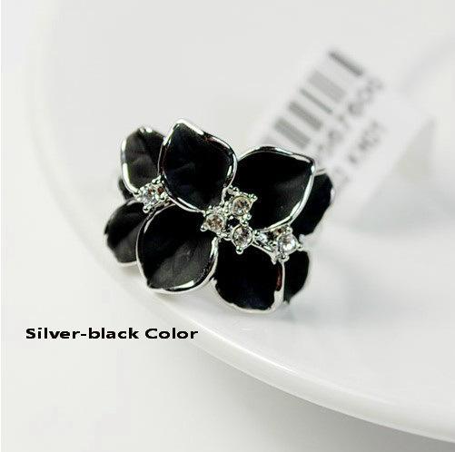 Italina Rigant Nuovo Ariival Genuine Anello di cristallo austriaco le donne con cristalli Swarovski Stellux Utopia Jewelry # RG95676