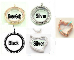 Discount great easter gifts - Choose Floating Living Locket pendant +Chain Great gift no charms including