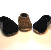 Wholesale Cheap Wholesale Loafer Shoes - 45%off!Hand-woven loafers. 9,10,11 CM crochet baby shoes. Soft bottom toddler shoes. Newborn walking shoes .baby wear .cheap 5pairs 10pcs