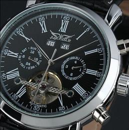 $enCountryForm.capitalKeyWord NZ - new fashion luxury jaragar brand mechanical men watches Tourbillon automatic complete calendar dial genuine leather relogio