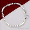 Wholesale - - - Hot !! Free shipping 925 Sterling silver 14g bracelets jewelry fashion H172