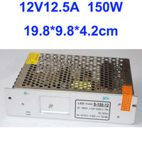 Wholesale W LED Strip light Switching Power Suply V A Driver AC100V V Input CE amp RoHS Certified Year Warranty
