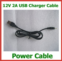 Wholesale Tablets V9 - 12V 2A USB Cable Lead Charger to DC 2.5mm Cord for Tablet Cube 10 inch U30GT U30GT2 U9GT5 Vido N90FHD Chuwi V9 Ainol Hero DC Power Cable