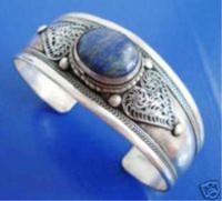 Wholesale Nepal Lapis - Fancy Jewelry tibet & nepal silver lapis lazuli braclet