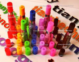 Wholesale Smok Vivi Nova - Colored 510 Ego Plastic Disposable Hole Test Drip Tip Mouthpiece Fits Ego, Smok,Protank 2, Vivi Nova Vape Atomizer