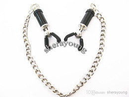 $enCountryForm.capitalKeyWord UK - New! Hot! BDSM Gear Female Use Nipple Clips Clamps SM Games Bondage Gadgets Sex Products Adult Toys