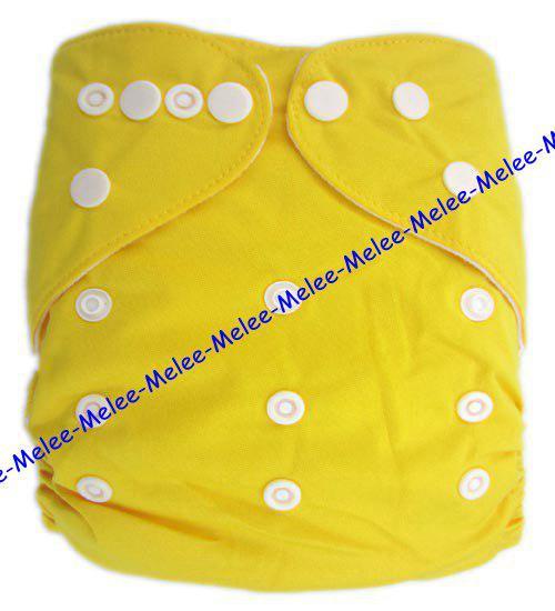 i Scegli pannolini di stoffa neonati Pannolini pannolini di bambino a tinta unita 3 strati Inserti in microfibra = = pannolini inserti Melee