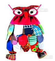 Wholesale Colorful Backpacks - Lowest Price OWl style colorful bag owl children's bag 10 colors optional Size: 30*25cm Cute Backpack 5PCS LOT ER