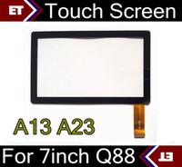 ingrosso sostituzione tablet touch touch screen-Sostituzione nuovissima del vetro dello schermo di tocco del touch screen per 7 pollici TC88 del PC della compressa di Q88 A33 A23 a 7 pollici