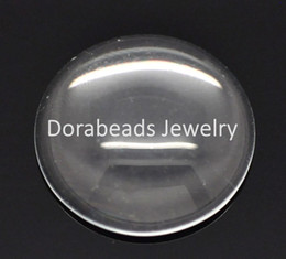 Wholesale Glass Spacers - Free Shipping! 50 Clear Round Glass Dome Seals 16mm (B15078)