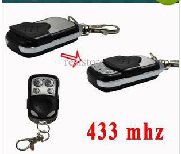 200PCS/LOT RF remote control duplicator for garage doors Wireless duplicating remote controls