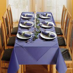 100%Poly Colorful rectangle tablecloth 150cm*250cm a with for wedding,party and other events