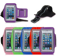 Wholesale S3 Gym Strap - Colorful GYM Sport Pounch Strap Soft Belt Armband Cover Case Bag Jogging Running For iPhone 4 4s 5 5s Samsung Galaxy S3 S4 Note 2 Note 3