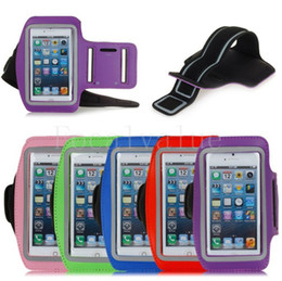 Cintura s3 online-Colorful GYM Sport Pounch Strap Soft Belt Armband Custodia Borsa da jogging Running per iPhone 4 4s 5 5s Samsung Galaxy S3 S4 Nota 2 Nota 3