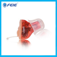 Wholesale Digital Hearing Aid Programmable - 2014 CE, FDA Approved Digital Mini Programmable Hearing Aid Voice Sound Amplifier Hearing Aids S-10A Free Shipping