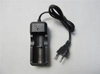 e v chargeur achat en gros de-14500 26650 16340 18650 batterie li-ion UE chargeur unique chargeur universel chargeur de batterie rechargeable 3.7 v pour e cig ecig lampe de poche DHL