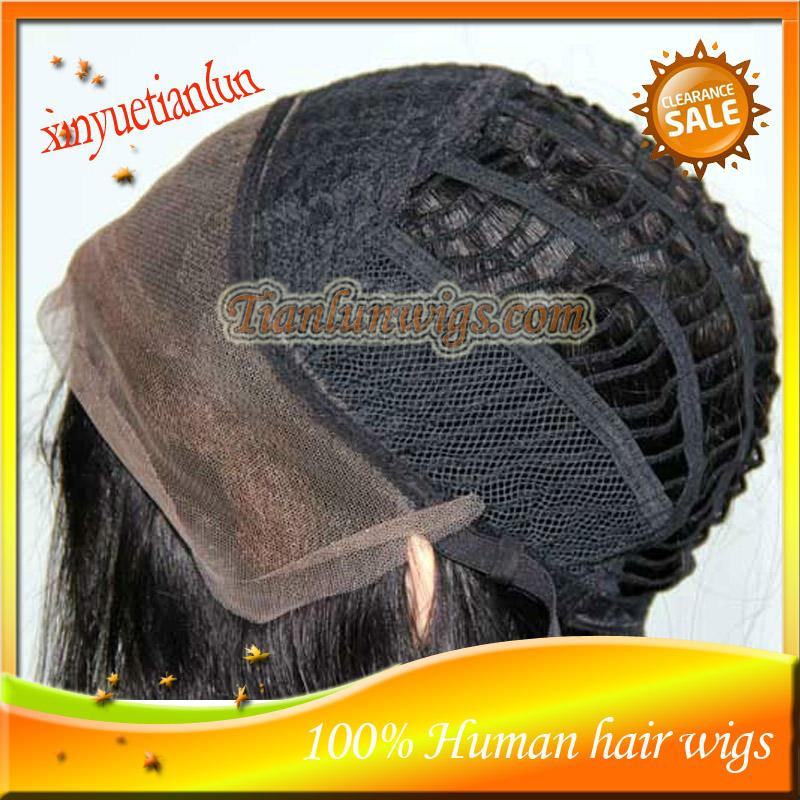 Stock!African American #1B Loose Wave Full Lace Wig With Baby Hair Peruvian Virgin Human Hair Full Lace Wig&Lace Front Wigs For Black Women