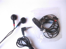 $enCountryForm.capitalKeyWord Canada - 3.5mm Black Stereo Disposable Earbuds  Cheap Earbuds headphones 500pcs lot