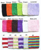 petits tubes gratuits achat en gros de-6x6 pouces petite taille corchet tube tutu tops au crochet pettiskirt tutu tops Livraison gratuite couleurs mélangées