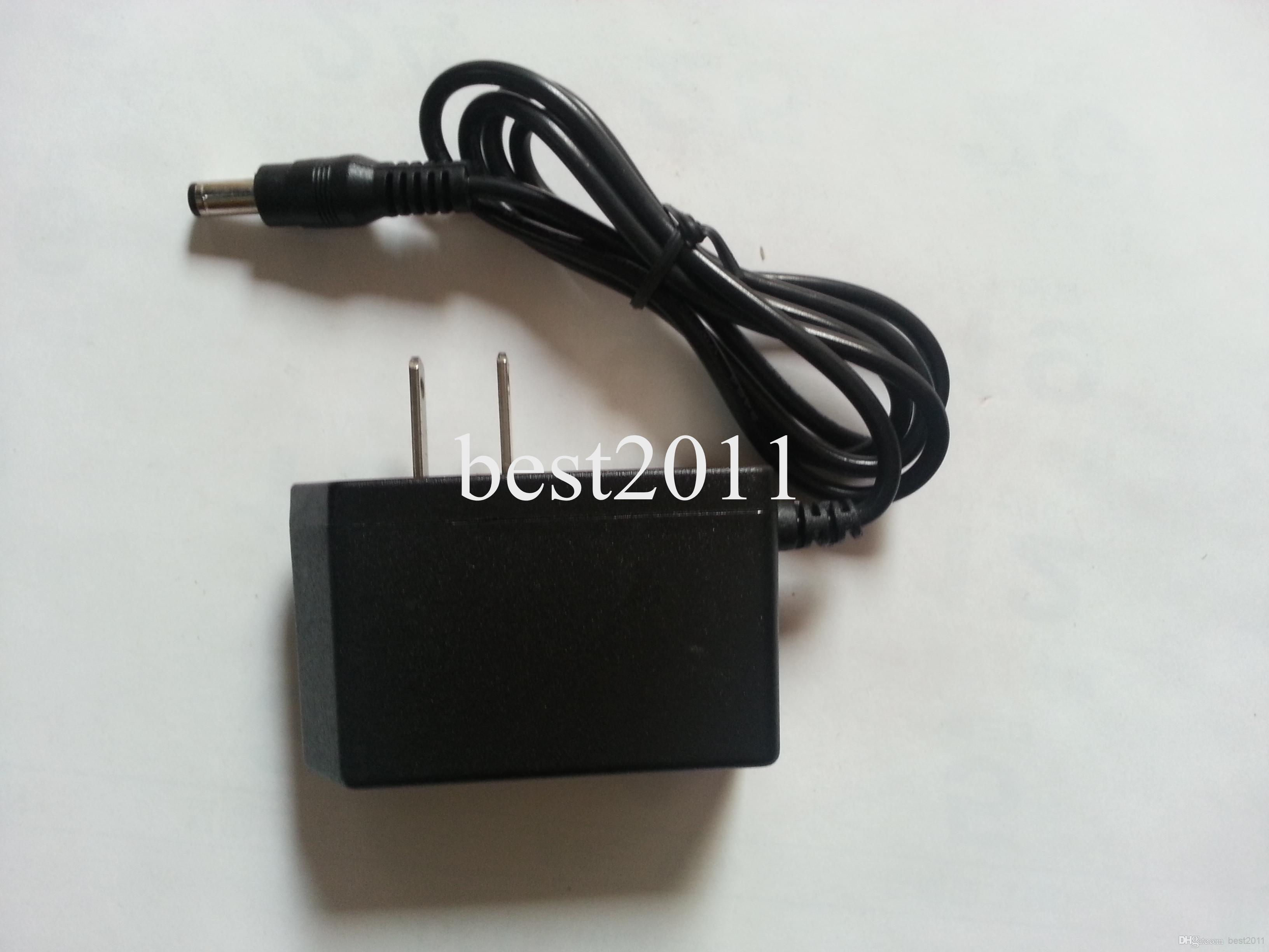 Libre FEDEX 100 UNIDS DC 12V 1A Adaptador de fuente de alimentación AC 100-240V Seguridad profesional Convertidor EE. UU. UE enchufe best2011