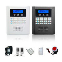 Wholesale Dual Band Gsm Alarm - 2014 New design dual band Home security System Wireless SMS GSM Alarm System ,burglar alarm system ,door alarm sensor