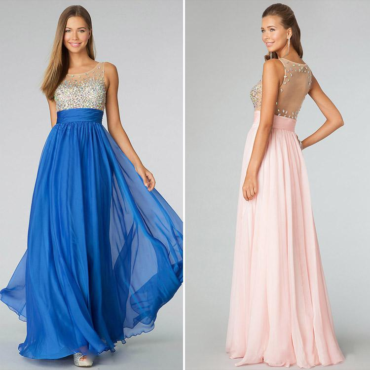 Hollow Evening Gowns