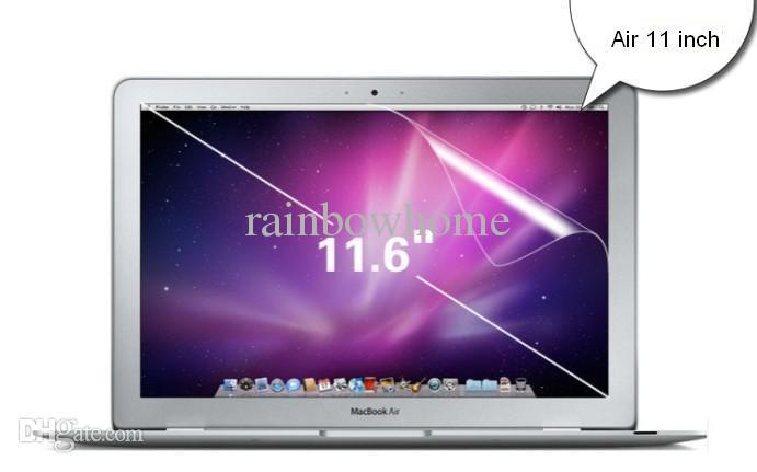 MacBook Air Pro Retinaのための高いクリアスクリーンプロテクター保護ペットフィルムガード12 13 15インチの防塵アンチスクラッチリテールボックス