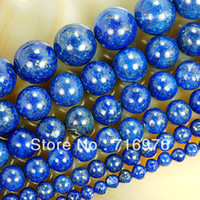 Wholesale 12mm lapis beads resale online - mm mm mm mm mm mm Natural Lapis Lazuli Beads jewelry making DIY
