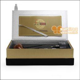 Wholesale Electronic Pipe Set - E pipe 601 618 E-Cigarette Smoking Pipe 2.5ml atomizer Electronic Cigarette 18350 900MAH Battery Gift Box Kit Hottest