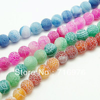 Wholesale Dragon Veins - Free Shipping Wholesale 38 pcs lot Dream Fire Dragon Veins Agate Bead 10mm