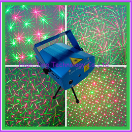 Wholesale Twinkle Lights Sale - Mini Laser Stage Lighting 150mW Twinkling Mini Green & Red Laser DJ Party Stage Light Lamps Lighting for sale free shipping