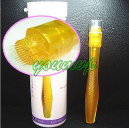 Drop Ship Derma Roller Canada - 35 needles derma stamp DTR derma roller with 35 micro needles 0.2MM-3.0MM drop shipping