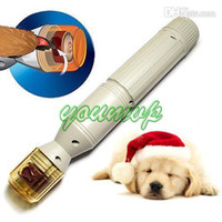 Wholesale dog nail filing - Pet Paws Nail Pedicure device Dog Electric Pedicure device Claw Trimmer Groomer files Grinders