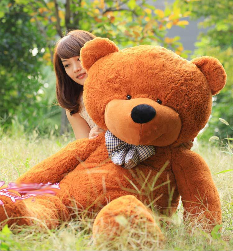2018 hot sale teddy bear stuffed light brown giant jumbo. Black Bedroom Furniture Sets. Home Design Ideas