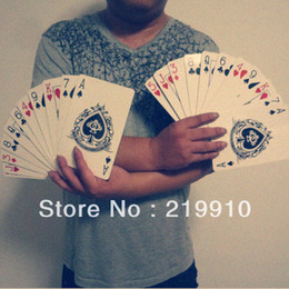 Free Magic Tricks Canada - Free shipping Expanded Multiply Cards - Magic Trick
