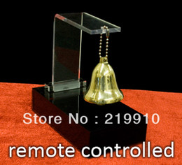 Free Magic Tricks Canada - Free shipping Spirit Bell - Electronic - Remote Controlled - HOT SELLING-Mentalism magic trick