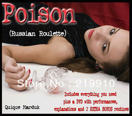 Free shipping Poison ( DVD and Props ) - Magic Trick