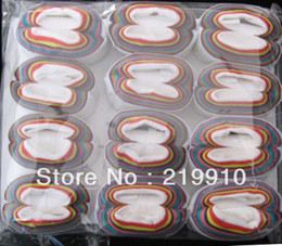 Free Shipping 2 pcs lot Color Mouth Coil --Magic Trick, Fun Magic, Party Magic.