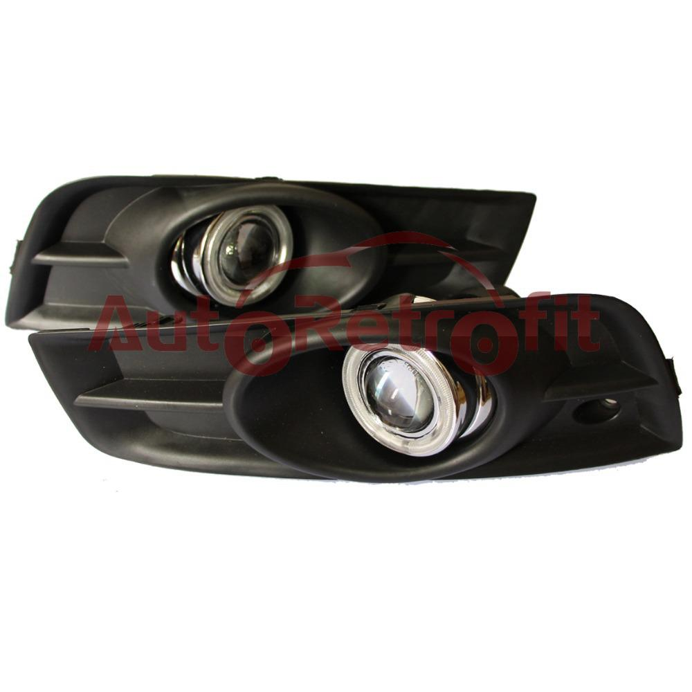 2017 fog light projectors for chevrolet cruze 55w halogen bulbs with ccfl angel eyes chevrolet cruze fog light projector lens from shimingmingmp