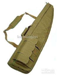 Wholesale Rifle Sniper Case Gun Bag - 5pcs lot 1m Tactical Rifle Sniper Case Gun Bag tan free ship