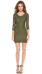 Wholesale lace dress xs - 2014 New Summer Lace Dress Long Sleeve Free Shipping